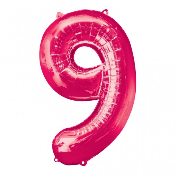 Anagram Supershape Number - 9 Pink