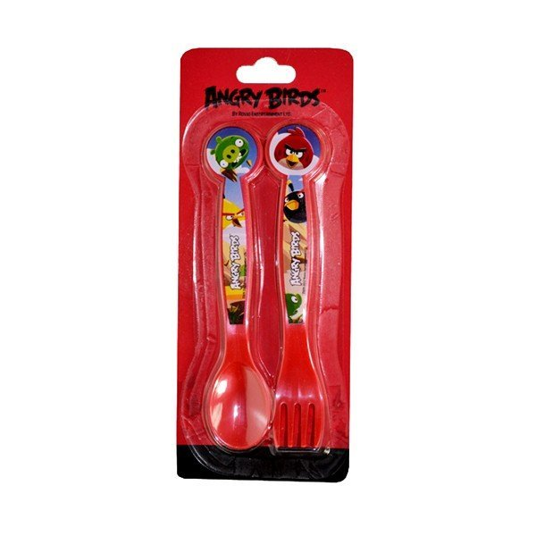 Angry Birds 2PC Cutlery Set
