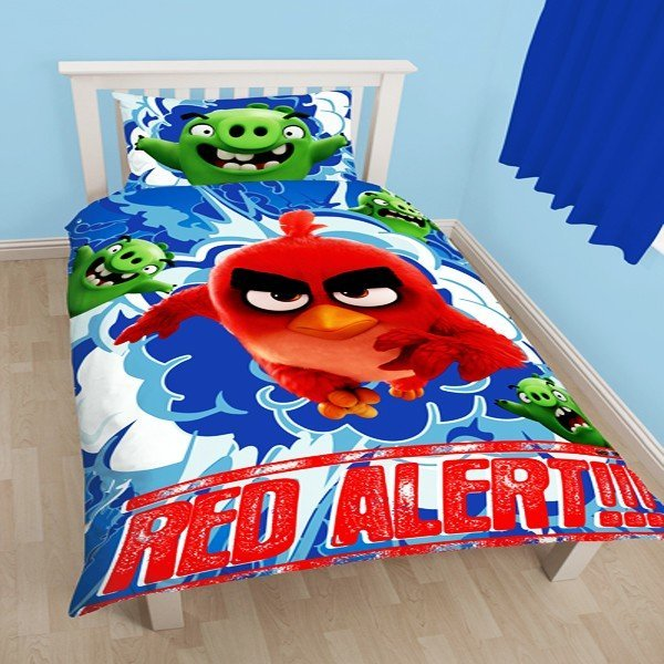 Angry Birds Movie Reversible Single Duvet