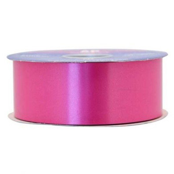 Apac 100 Yards Polypropylene Ribbon - Magenta