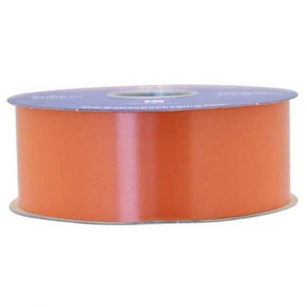 Apac 100 Yards Polypropylene Ribbon - Orange