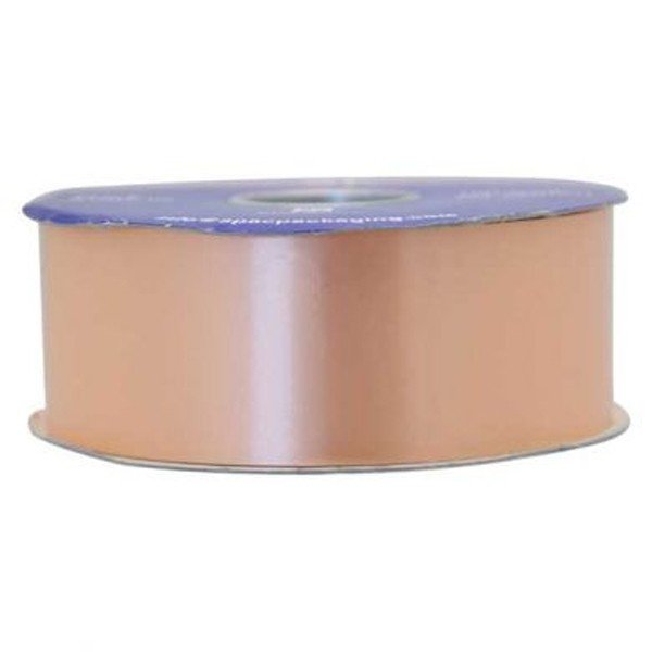 Apac 100 Yards Polypropylene Ribbon - Peach