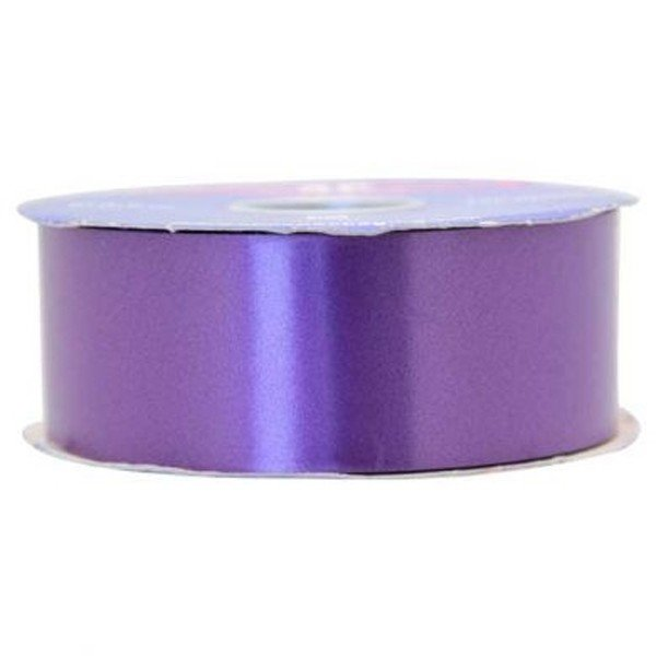 Apac 100 Yards Polypropylene Ribbon - Purple