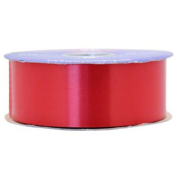 Apac 100 Yards Polypropylene Ribbon - Red
