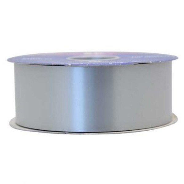 Apac 100 Yards Polypropylene Ribbon - Silver