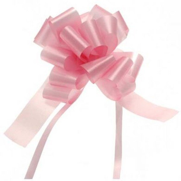 Apac 31mm Pull Bows - Baby Pink