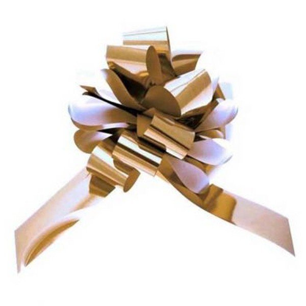 Apac 31mm Pull Bows - Metallic Gold