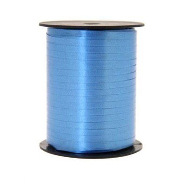 Apac 500 M Curling Ribbon - Azure Blue