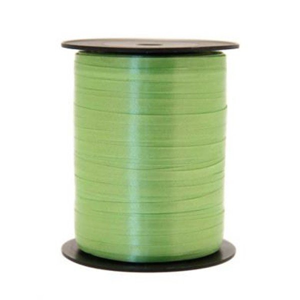 Apac 500 M Curling Ribbon - Lime Green