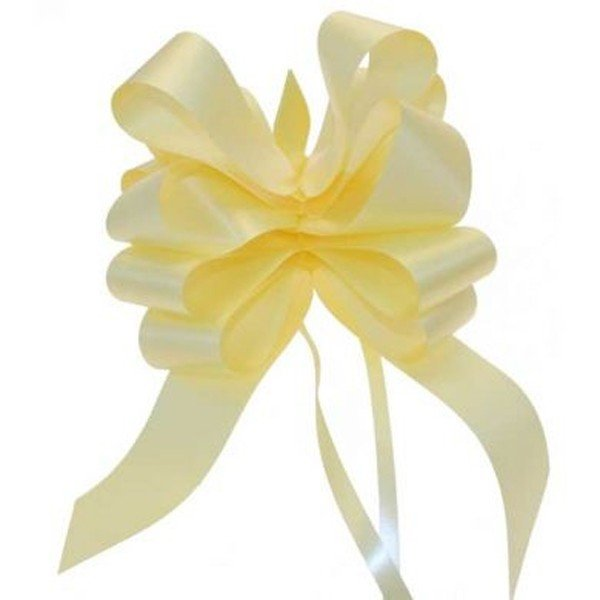 Apac 50mm Pull Bows - Light Yellow