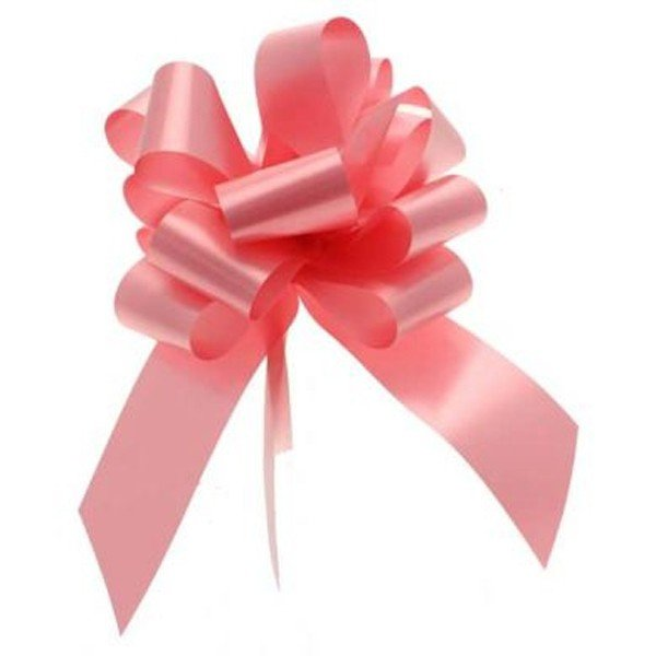 Apac 50mm Pull Bows - Pink
