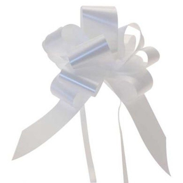 Apac 50mm Pull Bows - White