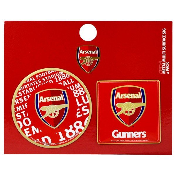 Arsenal 2PK Multi Surface Metal Sign
