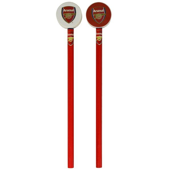 Arsenal 2PK Pencil & Topper Set