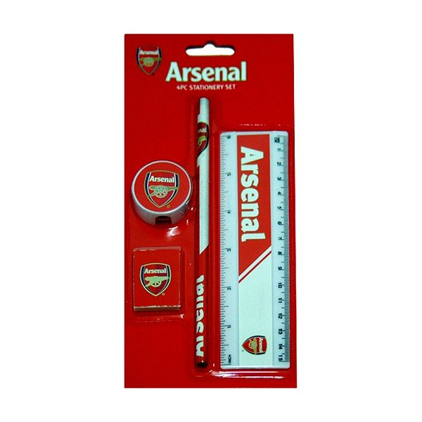 Arsenal 4PC Stationery Set