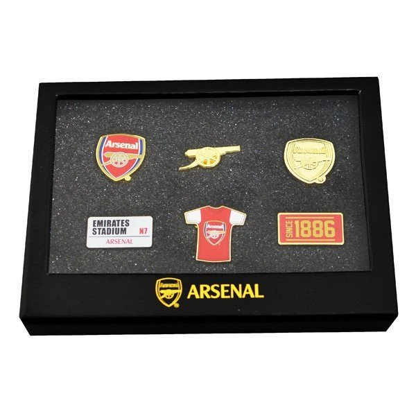 Arsenal 6 Piece Badge Set