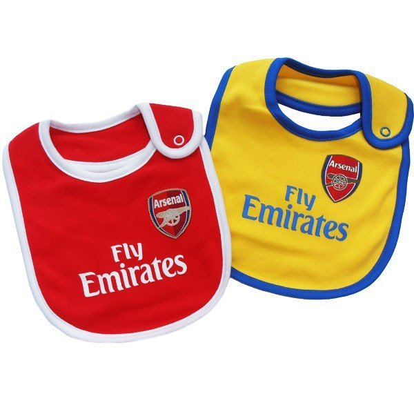 Arsenal Baby 2PK Bib