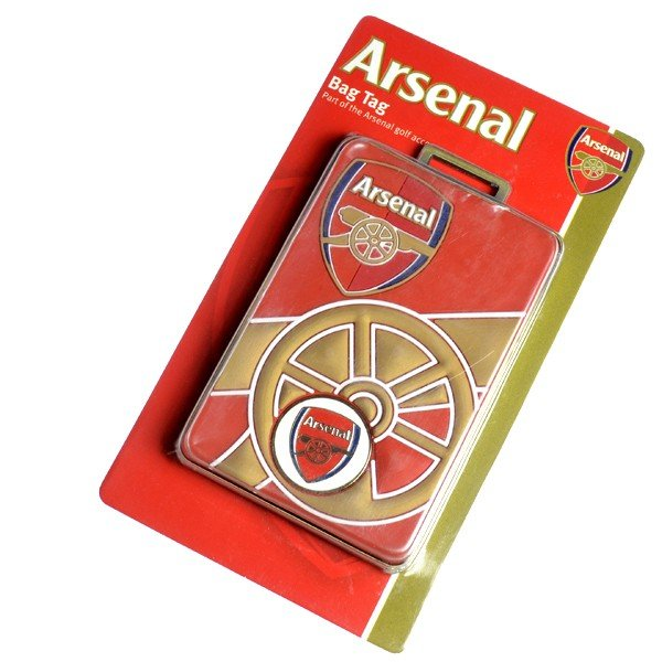 Arsenal Bag Tag Plus Ball Marker