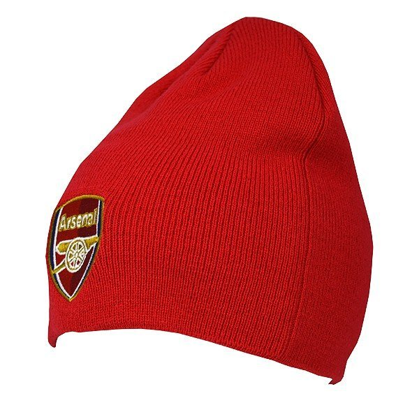 Arsenal Basic Beanie Hat - Red