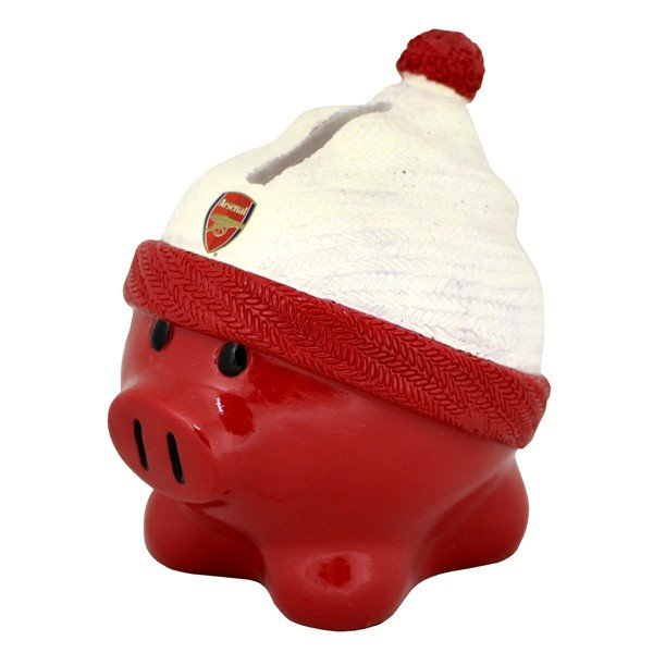 Arsenal Beanie Piggy Bank