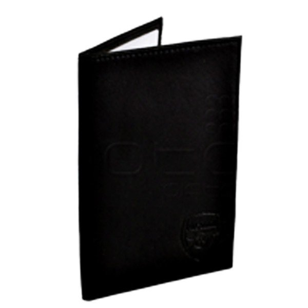 Arsenal Black Passport Wallet