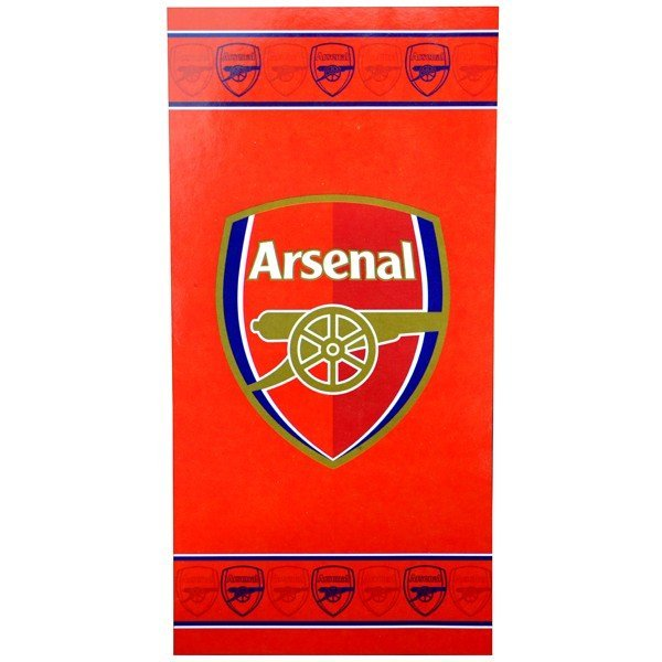 Arsenal Border Crest Towel