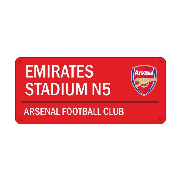 Arsenal Colour Street Sign