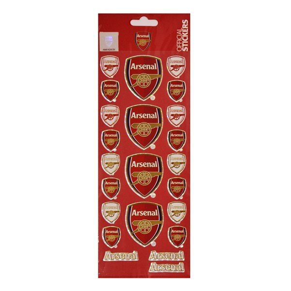 Arsenal Crest Sticker Sheet