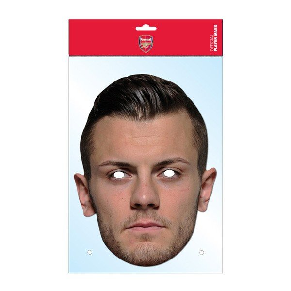 Arsenal Face Mask - Wilshere