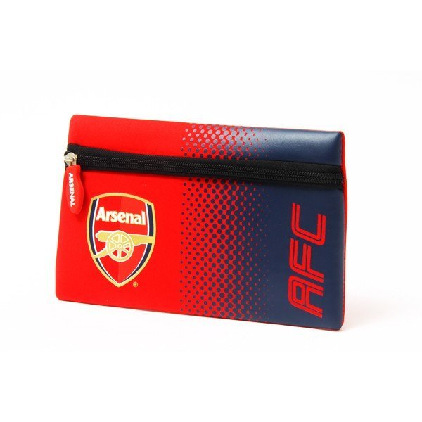 Arsenal Fade Flat Pencil Case