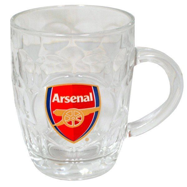 Arsenal Glass Tankard