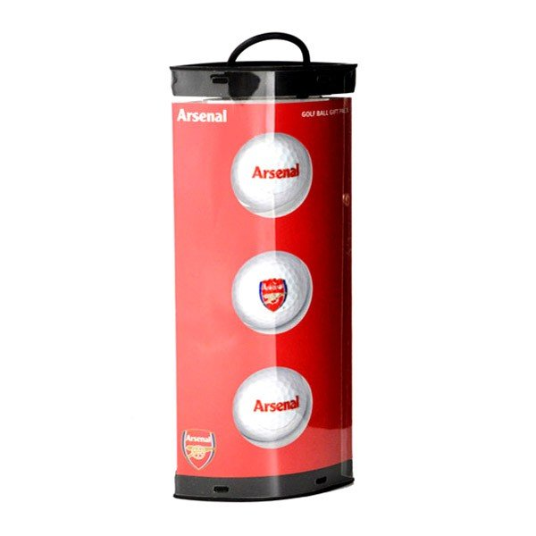Arsenal Golf Ball Gift Pack