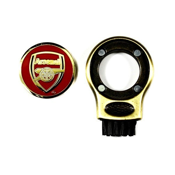 Arsenal Golf Gruve Brush & Ball Marker