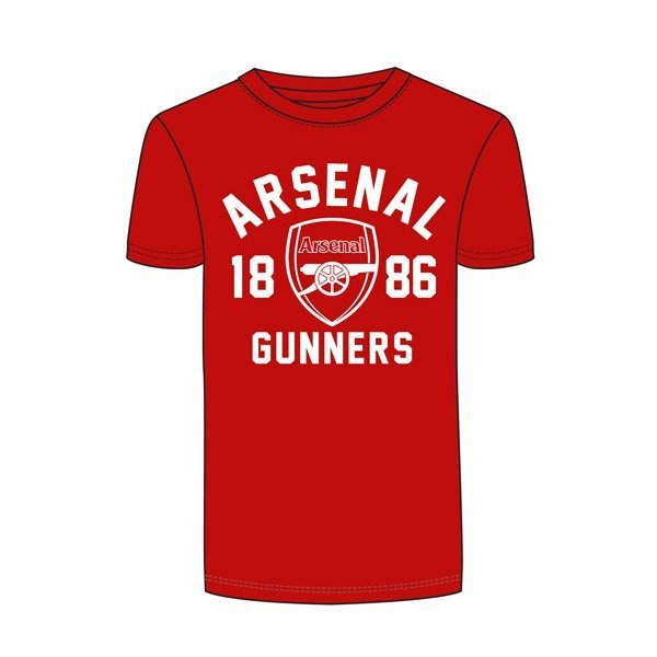 Arsenal Gunners Mens T-Shirt - L