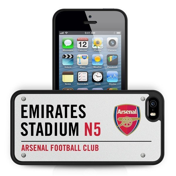Arsenal iPhone 5/5S 3D Hard Phone Case- Street Sign