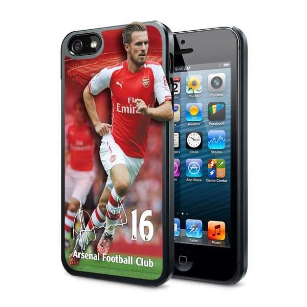Arsenal iPhone 5/5S 3D Hard Phone Case - Ramsey