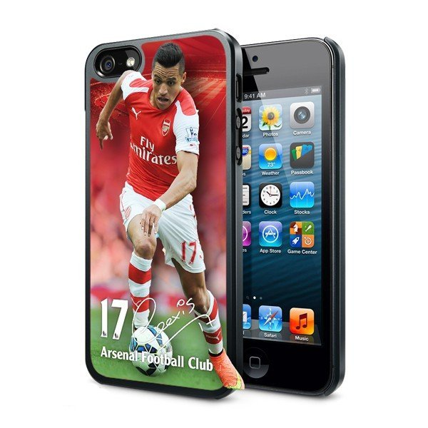 Arsenal iPhone 5/5S 3D Hard Phone Case - Sanchez