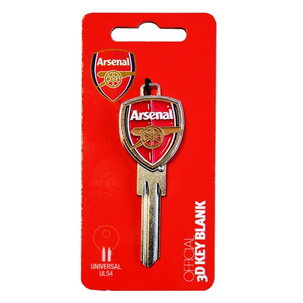 Arsenal Key Blank-3D