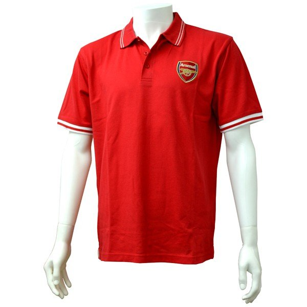Arsenal Mens Polo Shirt - S