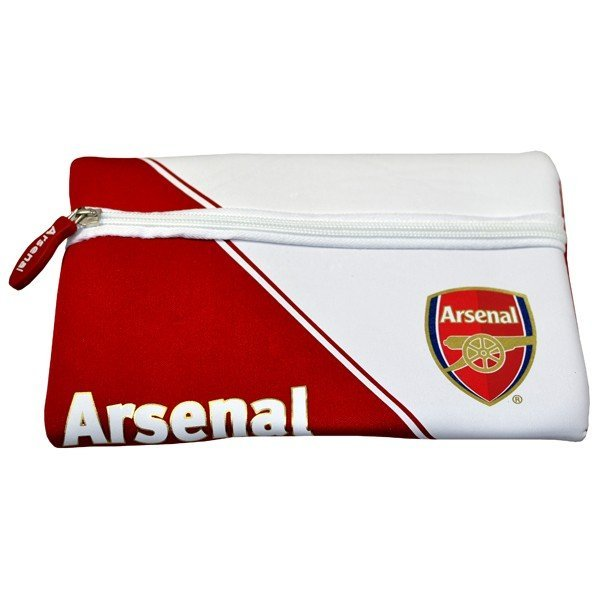 Arsenal Neoprene Pencil Case - Red/White