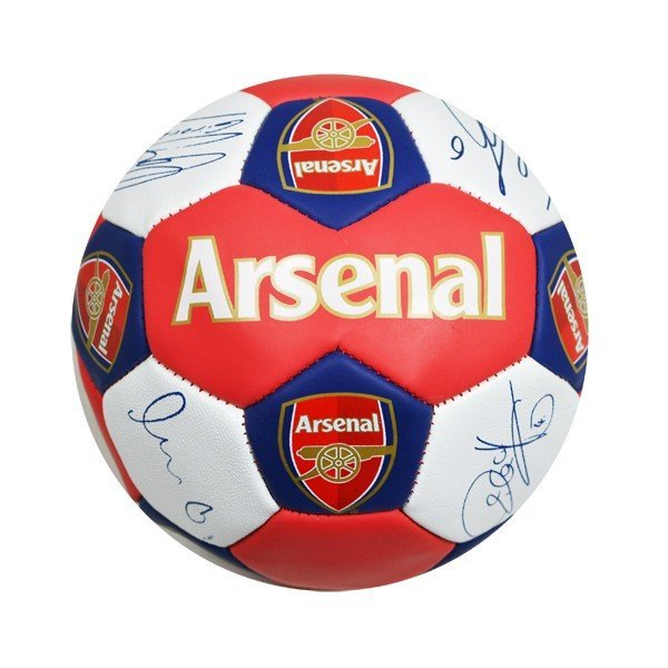 Arsenal Nuskin Signature Football - Size 3