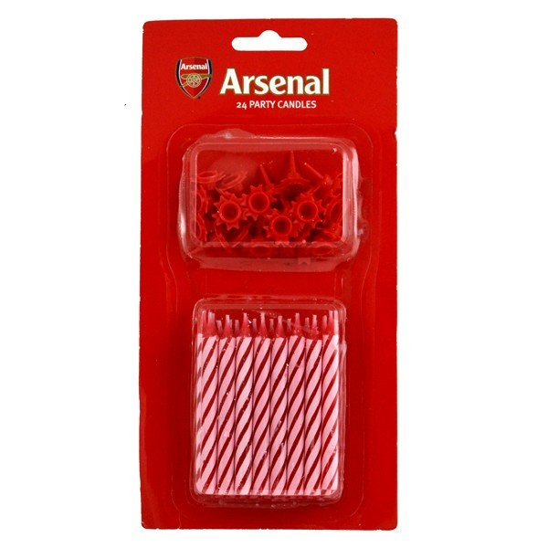 Arsenal Party Candles
