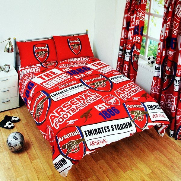 Arsenal Patch Double Duvet Set