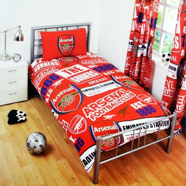 Arsenal Patch Single Duvet Set