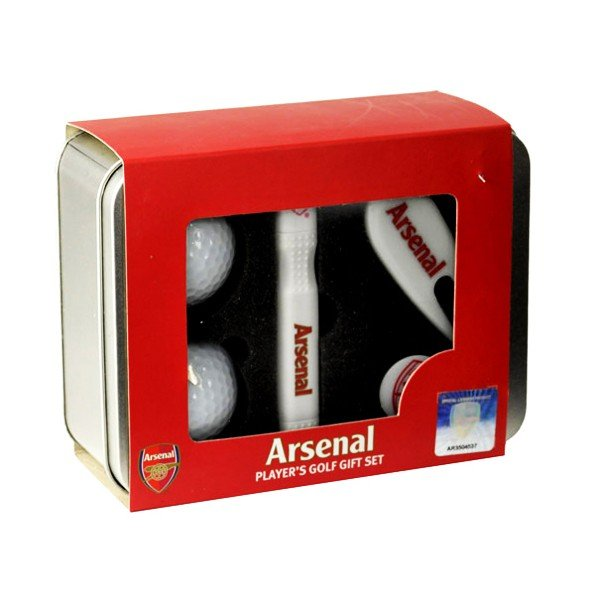 Arsenal Players Golf Gift Set