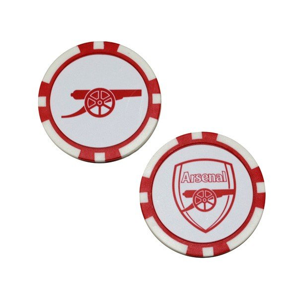 Arsenal Poker Golf Ball Marker - 2PK