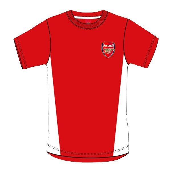Arsenal Red Crest Mens T-Shirt - L