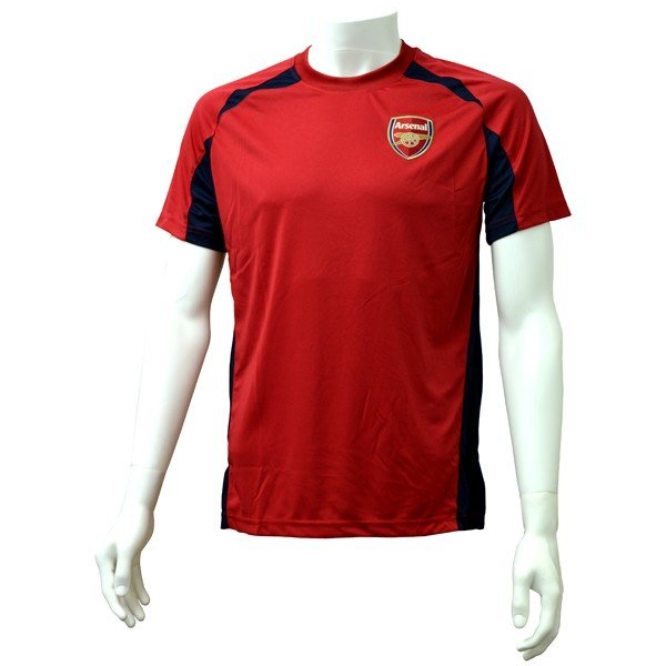 Arsenal Red Panel Mens T-Shirt - M