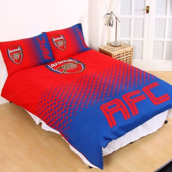 Arsenal Reversible Fade Double Duvet Set