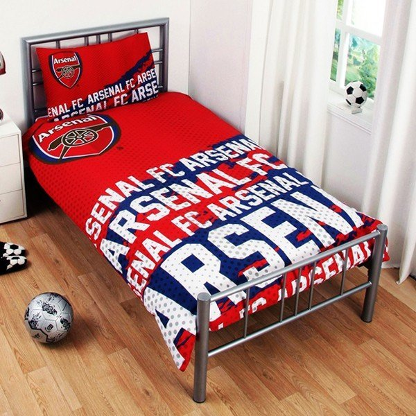 Arsenal Reversible Impact Single Duvet Set